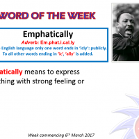 Word of the week 6.3.17