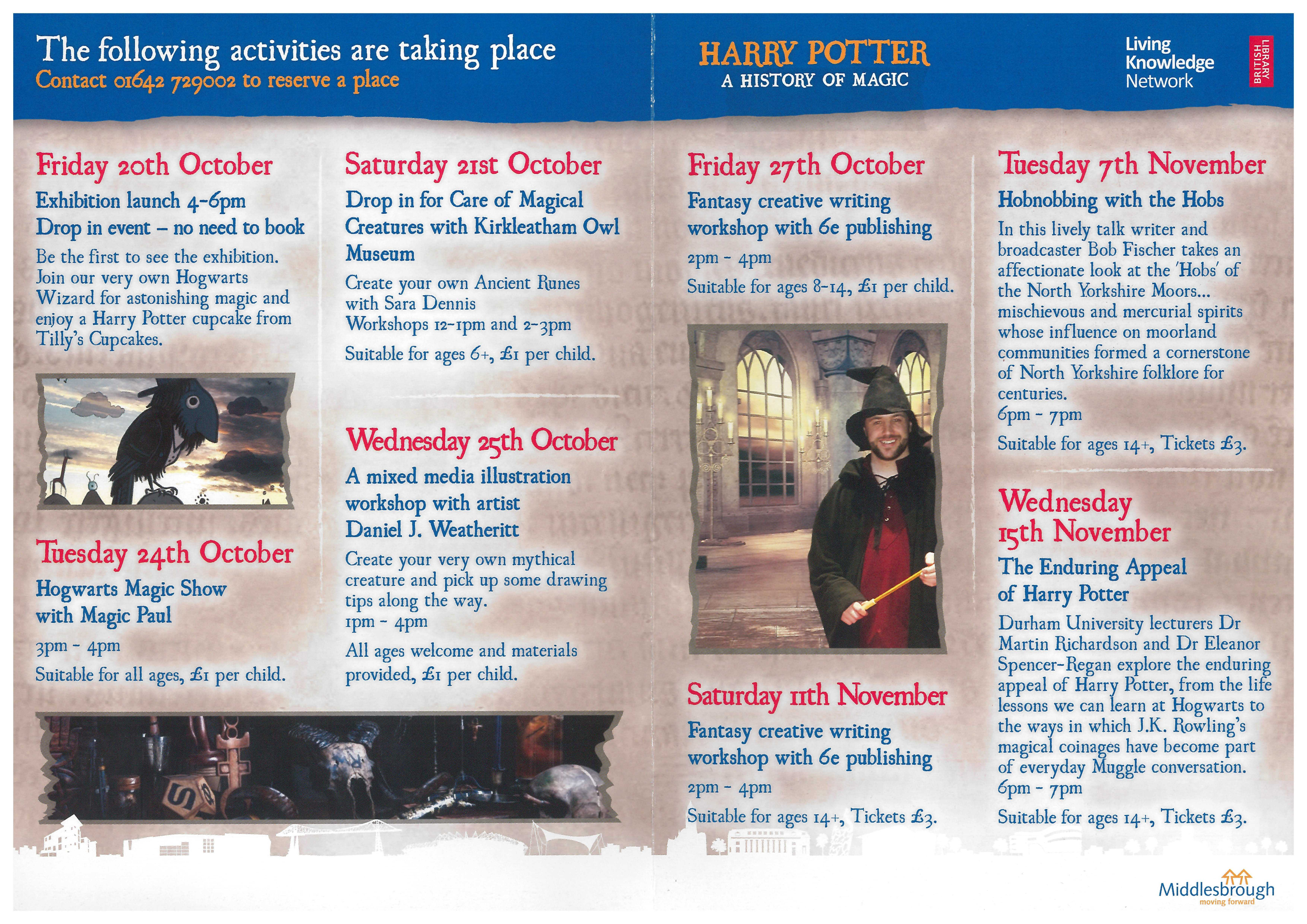 Harry Potter events